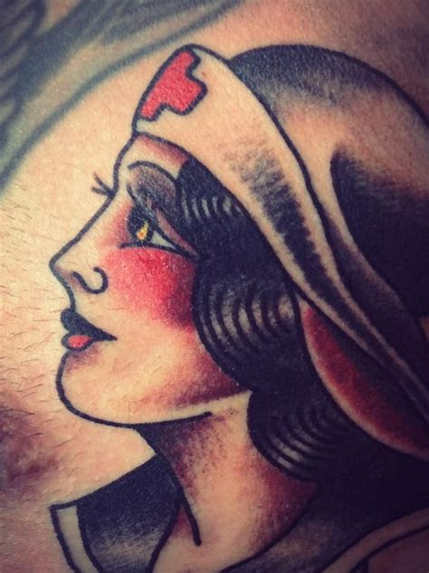 rohan tattooer nurse traditional style tattoo nurse
