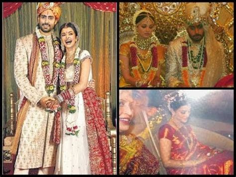 aishwarya rai and abhishek bachchan marriage photos   YouTube