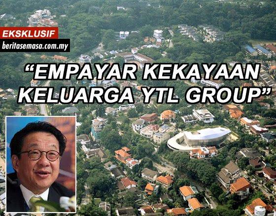 Gambar Rumah Mewah Tan Sri Francis Yeoh YTL. Empayar Kekayaan Kumpulan YTL