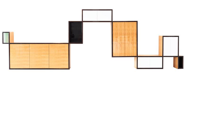 Altos e baixos, projetado Unidade de 2012.