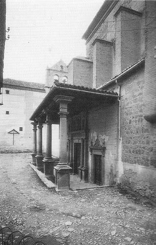 Convento de Santo Domingo el Real (Toledo) en el siglo XX. Foto Rodríguez