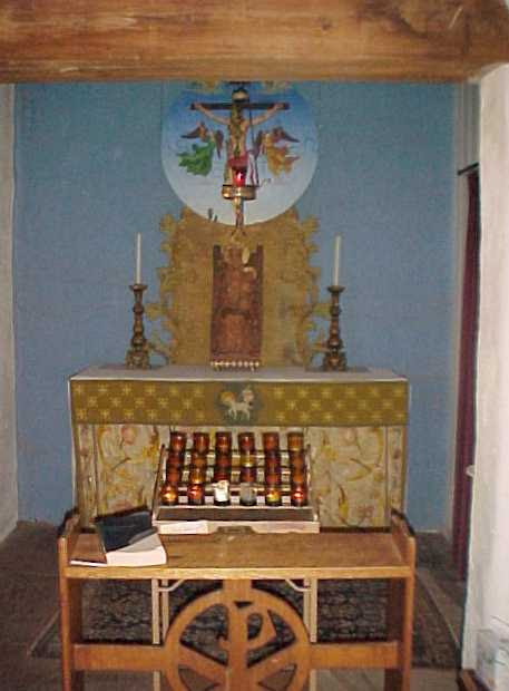 The Altar of Repose during the English Faire