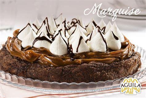 Marquise de chocolate Aguila   Tortas de chocolate