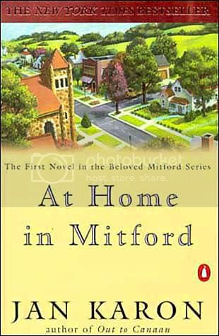 At Home in Mitford by Jan Karon $7 Trade PB, NEW