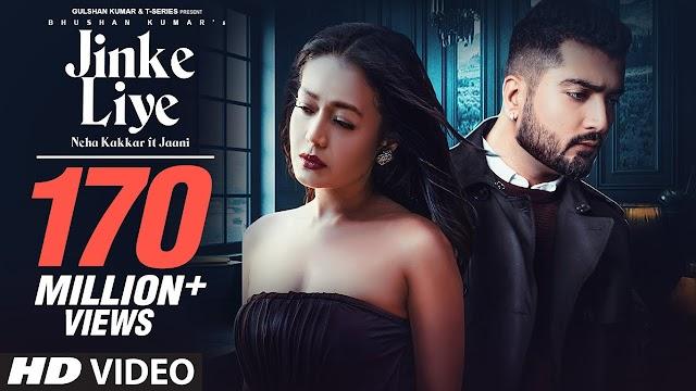 Jinke Liye song lyrics in Hindi/ नेहा कक्कर जिनके लिए
