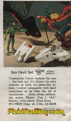 Mattel Sea Devils
