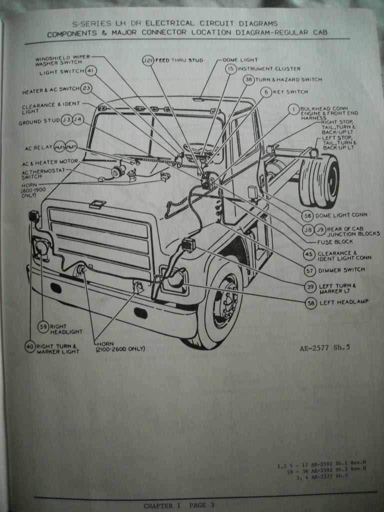 International Truck Engine Diagram - Wiring Diagrams