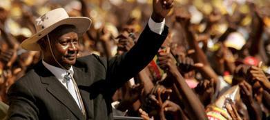 Il presidente ugandese Yoweri Museveni (Ansa)
