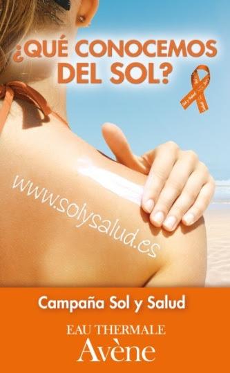 Cartel campaña sol y salud