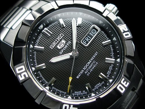 montre seiko snzd13j1 montre homme automatique analogique cadran noir affichage date. Black Bedroom Furniture Sets. Home Design Ideas