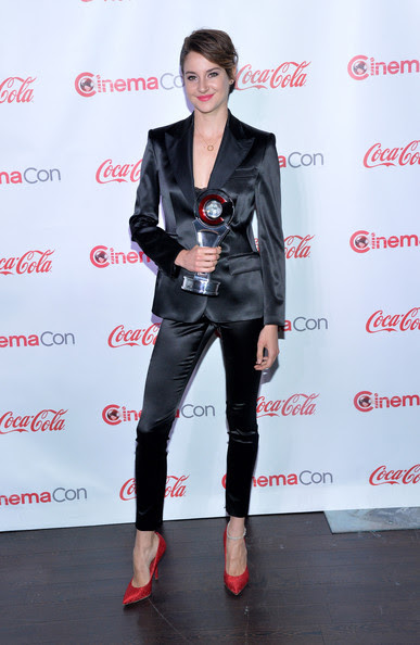 Shailene Woodley - CinemaCon 2014 - The CinemaCon Big Screen Achievement Awards Brought To You By The Coca-Cola Company