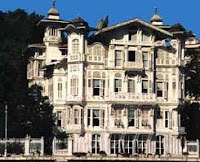 Tarkan could have hidden away in a villa in Istanbul like this one