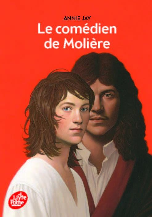 Couverture Le comédien de Molière