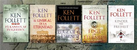 Portadas El umbral de la eternidad (Ken Follett)-Trabalibros