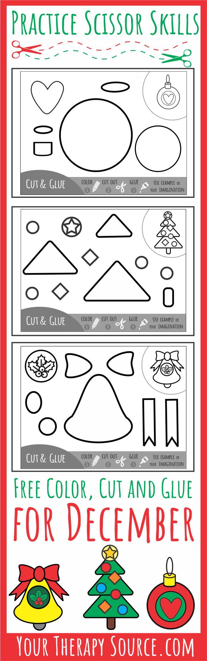 Color Cut Glue December