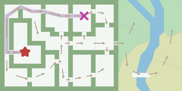 new-map with polygons