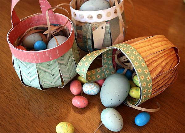 DIY Easter Baskets | Cosmo Cricket