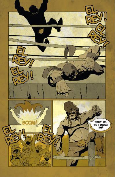 wrestling KING! Thomas Hall Daniel Bradford