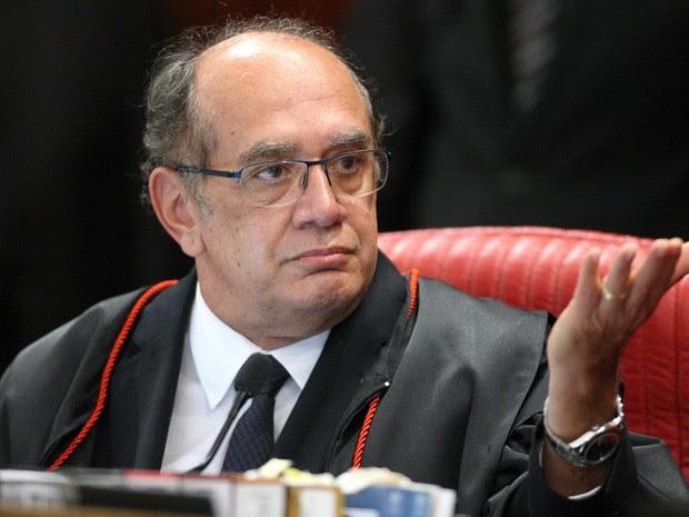 10/05/2016 - Ministro Gilmar Mendes, durante sessão plenária do TSE. Brasília-DF  (Foto: Roberto Jayme/ SCOI /TSE)