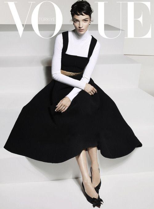 Style - Minimal + Classic: VOGUE Mariacarla Boscono