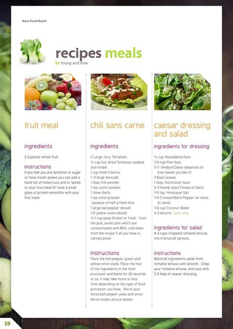 raw food reset  day raw cleanse meal plan cleansed