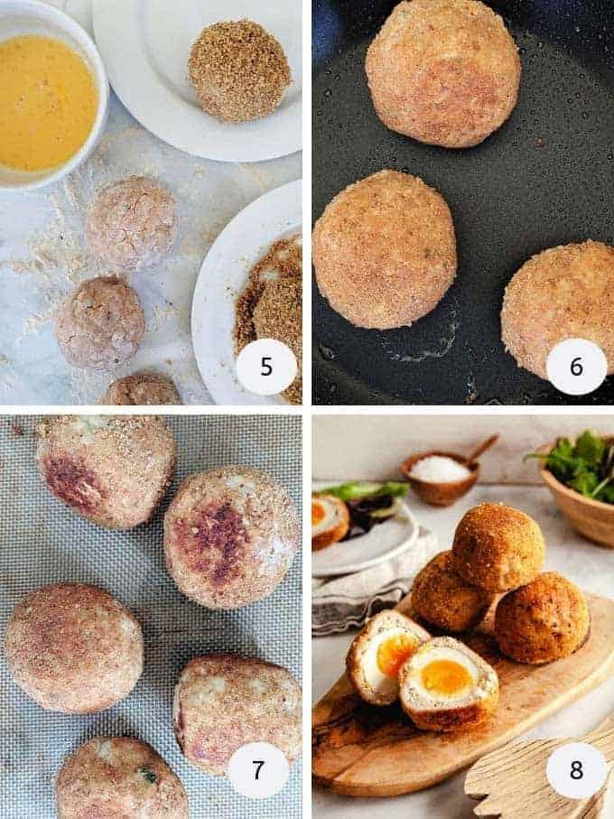 Scotch Eggs | Weight Watchers | Pointed Kitchen