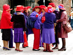 PRINSJESDAG: THE RED HAT SOCIETY. When I am an...