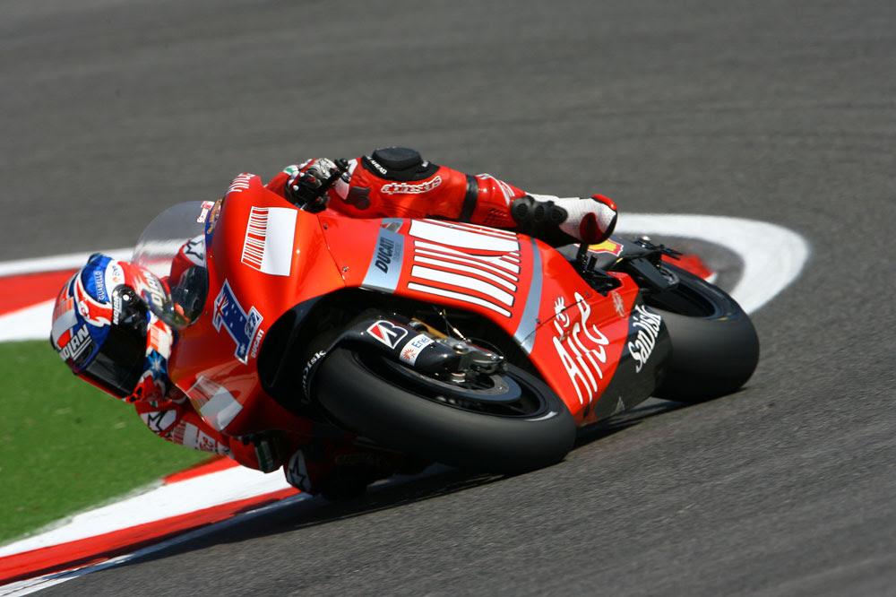 Casey Stoner vuelve a Ducati