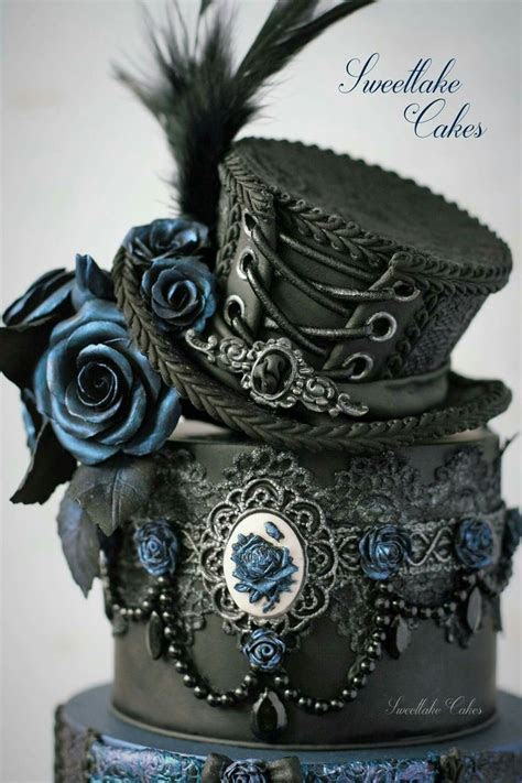 25  Best Ideas about Gothic Cake on Pinterest   Gothic