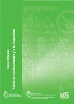 """Portada de """"Manual básico de prevención de riesgos laborales para la familia profesional Servicios Socioculturales y a la Comunidad"""""""