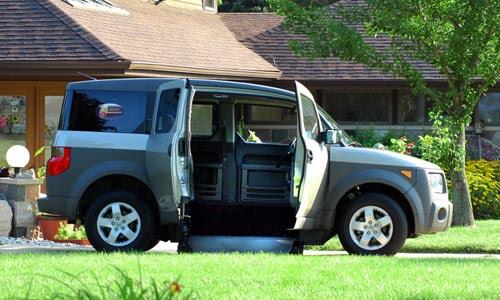 Honda Element Mobility Vans And Equipment Sango Ca