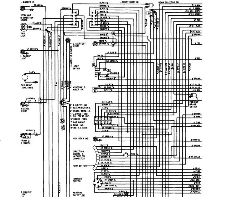 68 Camaro Wiring Diagram