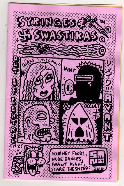SWASTIKAS & SYRINGES COVER