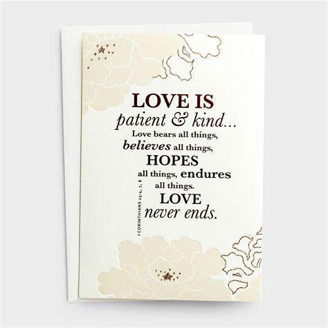 Wedding   Patient & Kind   6 Premium Cards   DaySpring