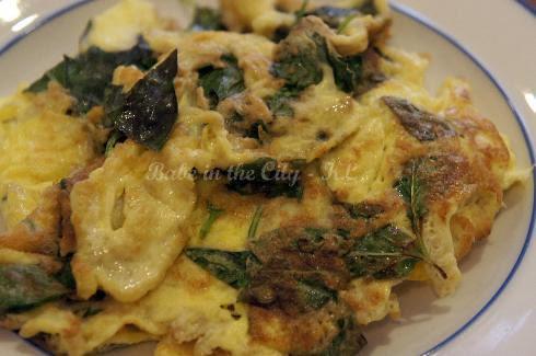 Thai Basil Omelette