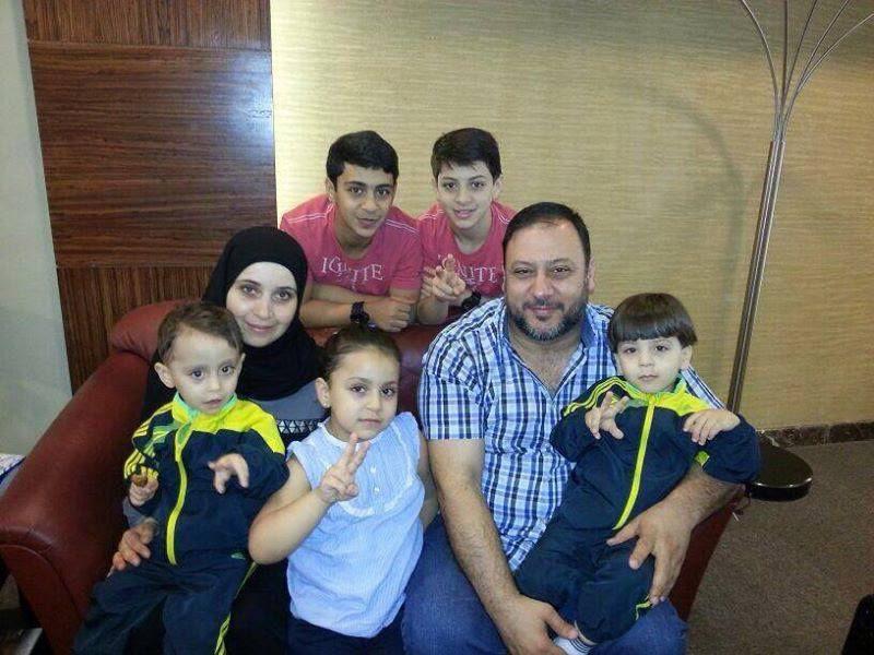 عائلة خالد مقداد