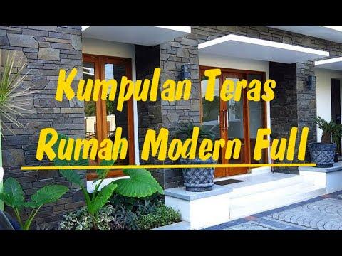 Kumpulan Desain Teras Rumah Modern Full