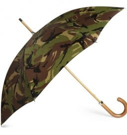 London Undercover Camouflage Print Umbrella