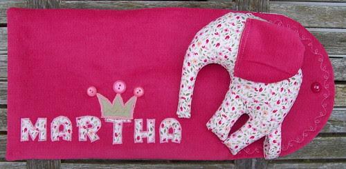 Klein frambozen-roze pamperzakje