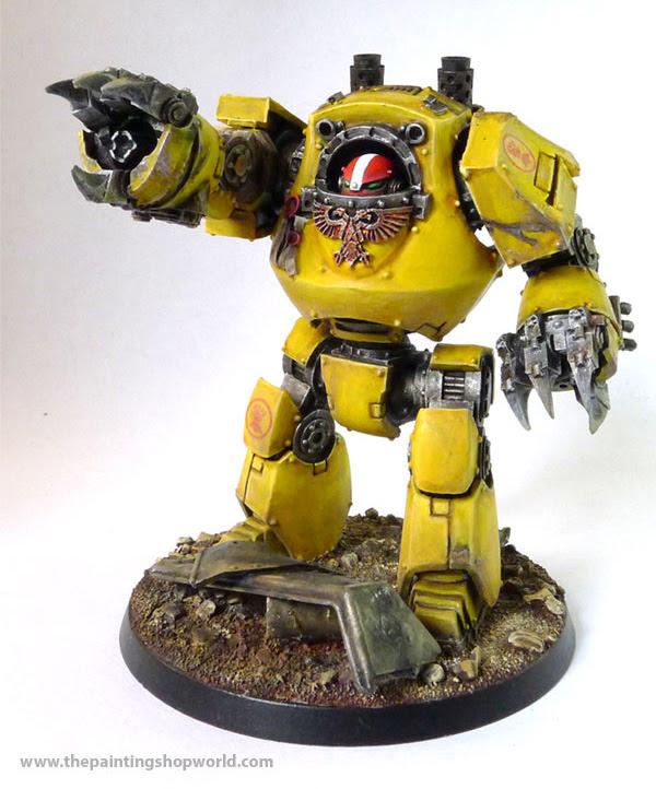 imperial fist contemphor dreadnought