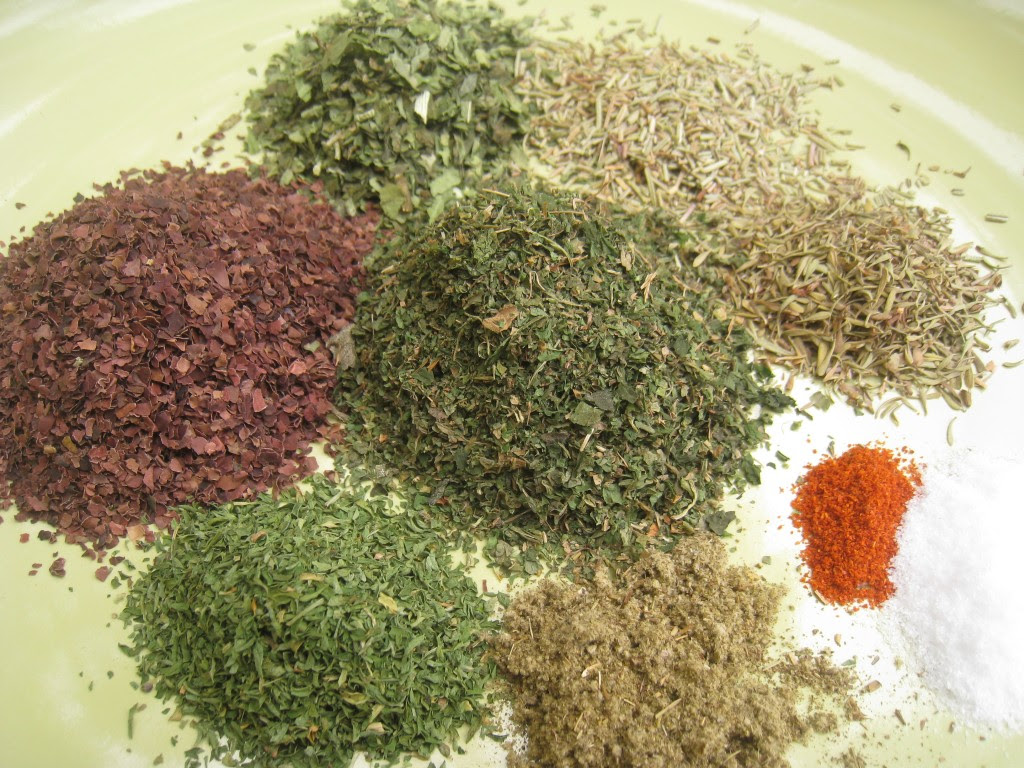 Dry Herbs and Flower