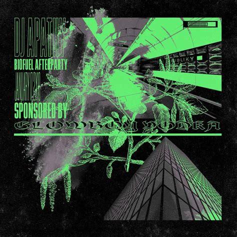 cyberpunk graphic design poster punk grunge alien event