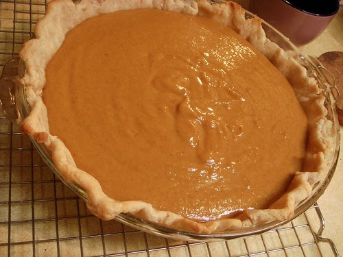 Tigger-Proof Pumpkin Pie