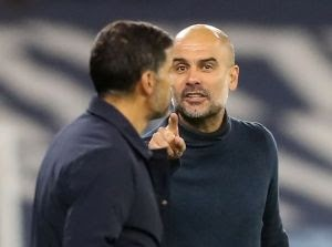 Porto Manager Has Launched Attack On Guardiola After UCL Defeat