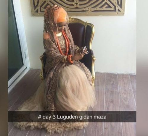Shahida Sanusi On Day3 Of Her Wedding Ceremony (Photos)