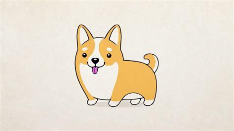 draw  cute dog dogzilla   cartoon dog