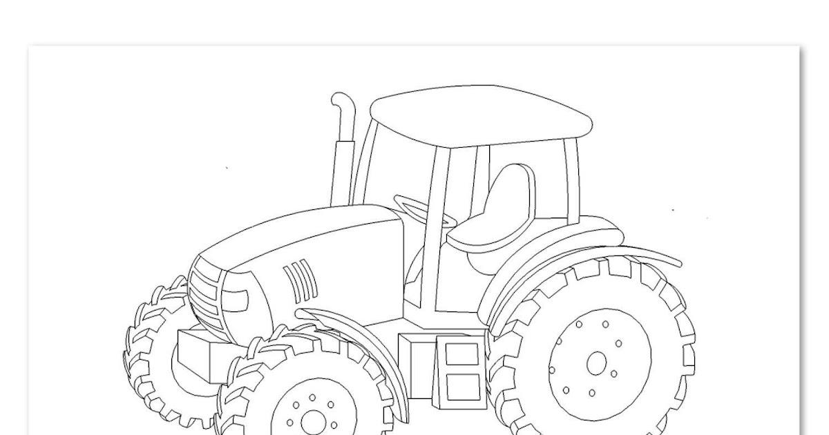 traktor ausmalbilder fendt  traktor ausmalbilder  das