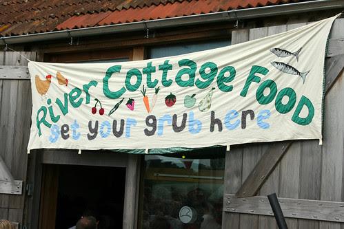River Cottage sign