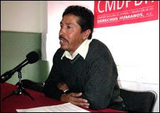 Rosendo Radilla Martínez, hijo de desaparecido.