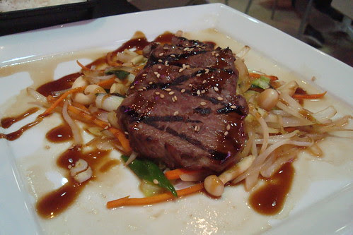 Hibachi Steak at Iota Coffee and Bakery